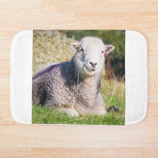 Happy Herdwick Sheep, Lake District Bath Mat