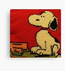 Hey Snoopy! Canvas Print