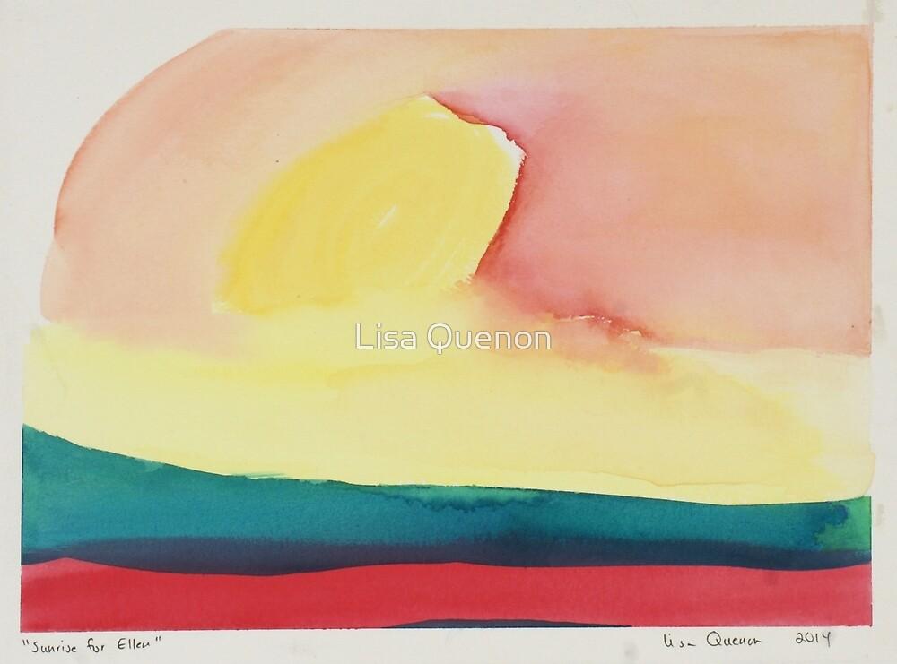 Sunrise for Ellen by Lisa Quenon