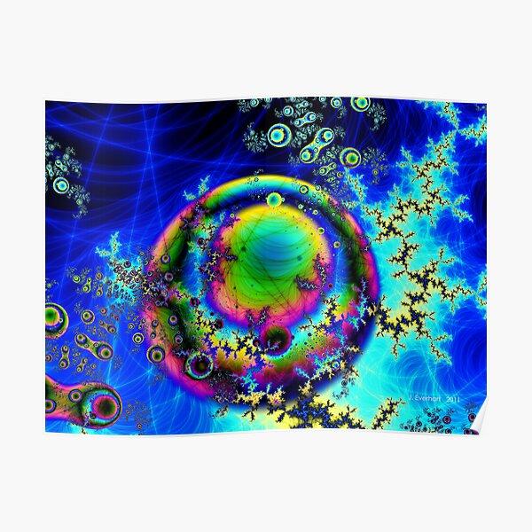 Planet Rainbow Poster