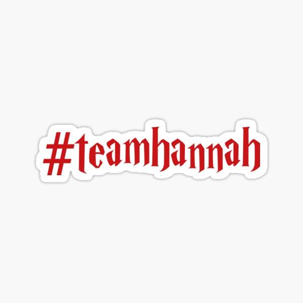 Team Hannah Sticker