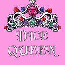 Dice Queen Poster By Saintash Redbubble