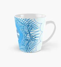 Blue Spirograph Tall Mug