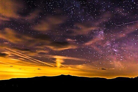 Star Gazing in the Brecon Beacons by Heidi Stewart