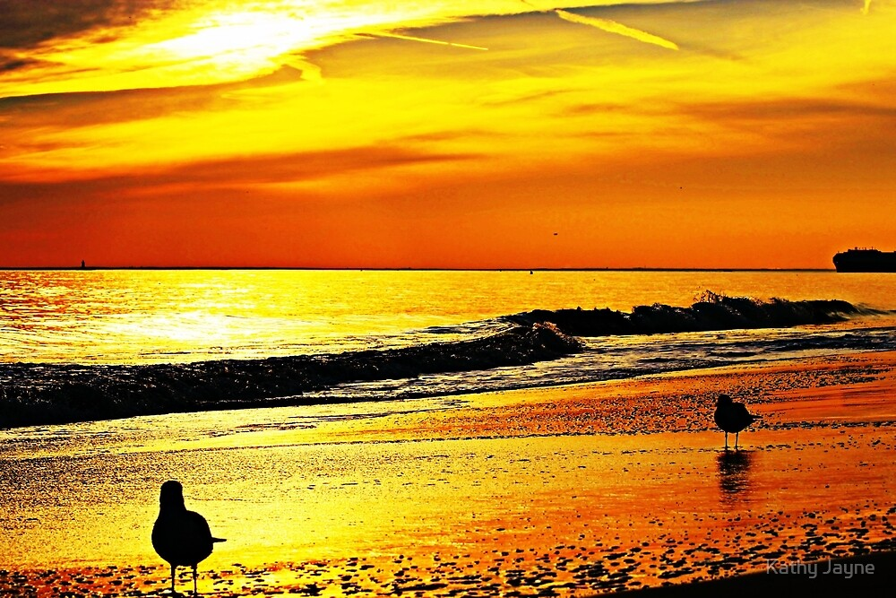 Golden Sunset  by Funmilayo Nyree