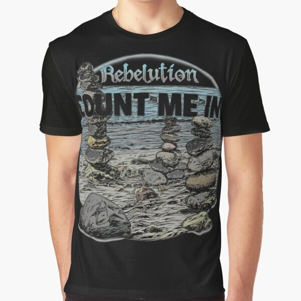 Count Me In, Rebelution Graphic T-Shirt