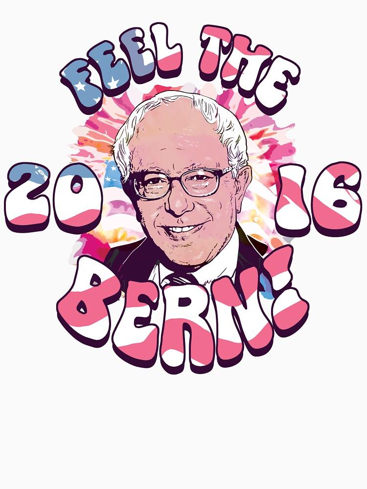 Bernie Sanders Feel The Bern | Unisex T-Shirt