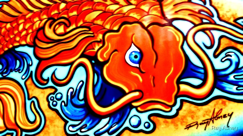 Angry Koi by Ray Abney