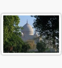 The Taj amongst the trees. Sticker