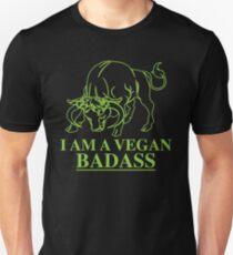 I Am A Vegan Badass Slim Fit T-Shirt