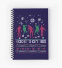 Season's Eatings Spiral Notebook