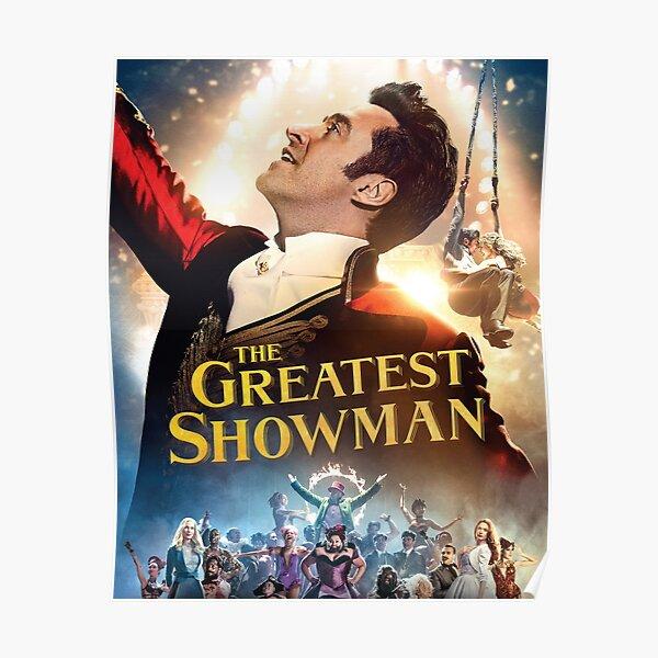 hugh le plus grand showman jackman tour 2020 duaempat unisexe T-shirt avant Poster