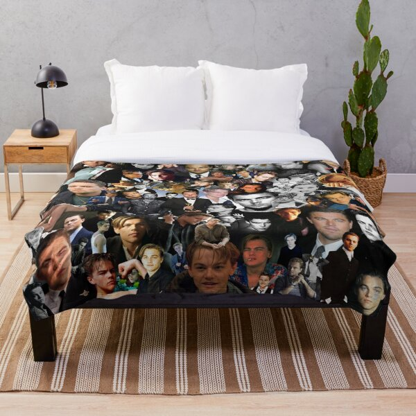 Leo DiCaprio Throw Blanket