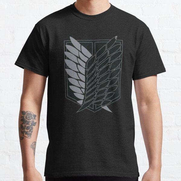 Bataillon d'exploration - SNK - B&W T-shirt classique