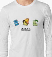 Retro Johto Starters Long Sleeve T-Shirt