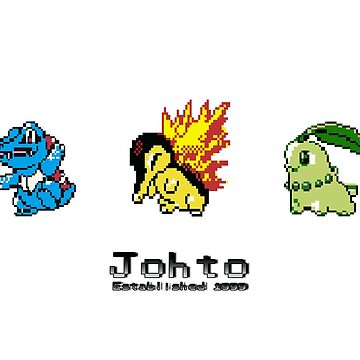 Retro Johto Starters by Wideout94