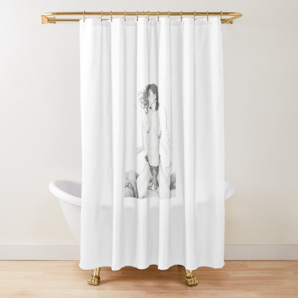 Bigger than Yours? Shower Curtain