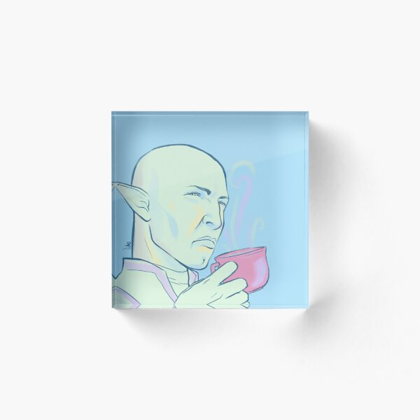 Solas greatly disapproves Acrylic Block