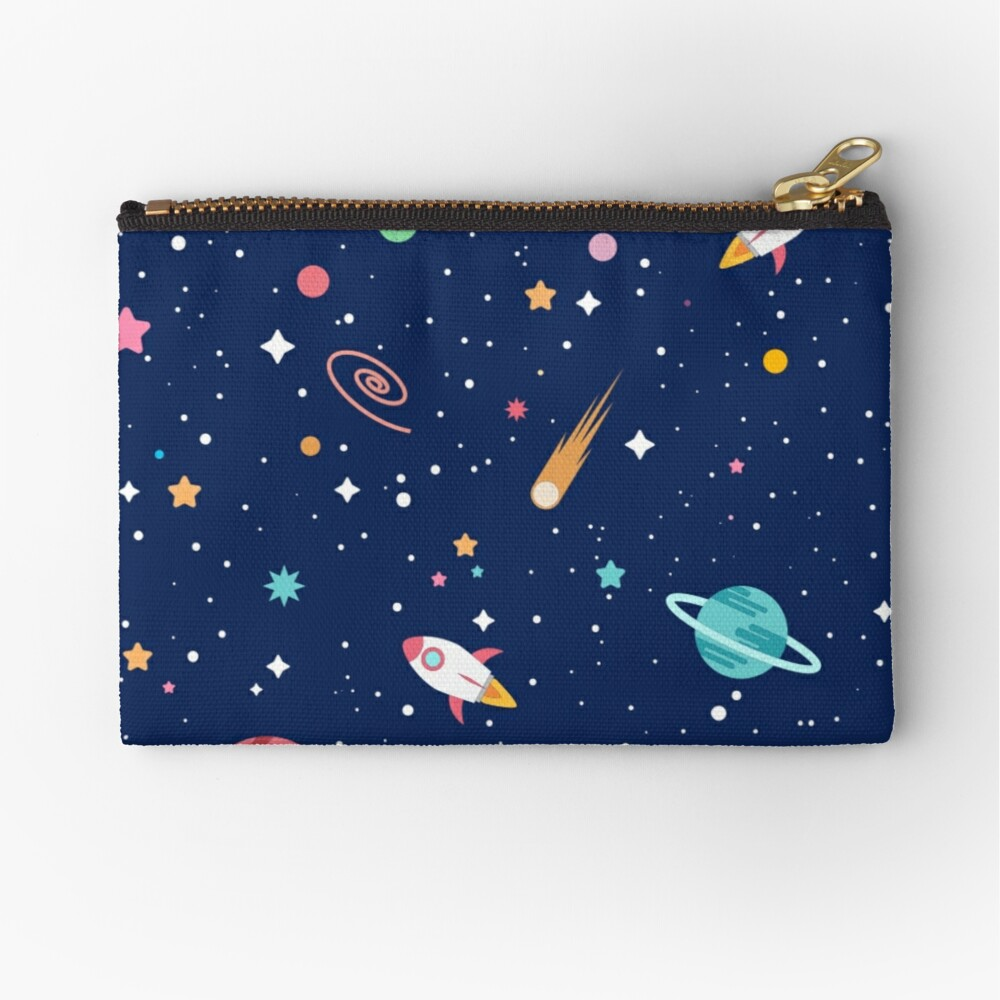 OUTER SPACE I Zipper Pouch