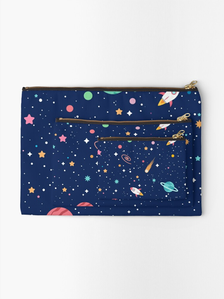 Alternate view of OUTER SPACE I Zipper Pouch