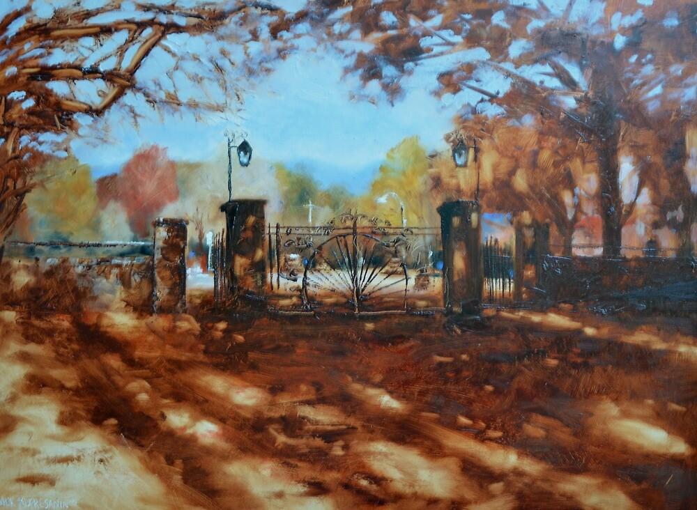 Gates at Bright, Victoria by Mick Kupresanin