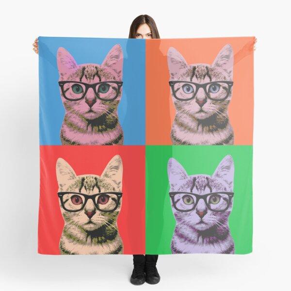 Warhol Cats Scarf
