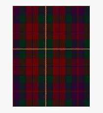 00309 Clare County Tartan  Photographic Print