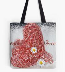 Valentine Greetings Tote Bag