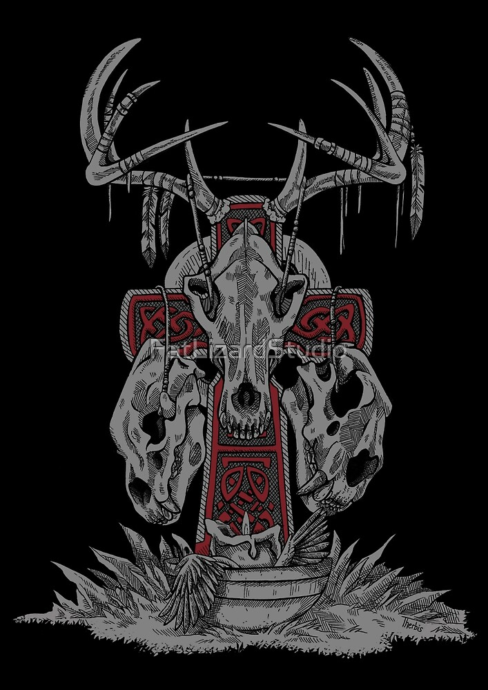 Celtic Totem by FatLizardStudio
