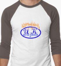 uk rogers bros tshirt by rogers bros Men's Baseball ¾ T-Shirt
