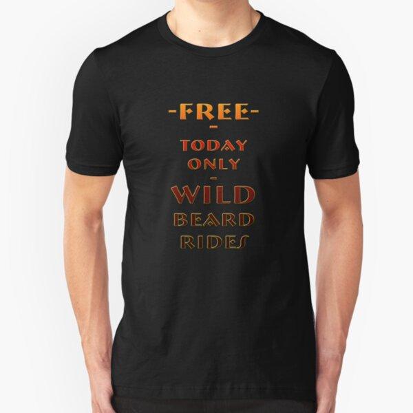 Beard Rides Slim Fit T-Shirt