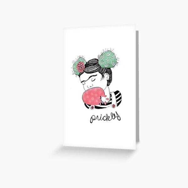 Prickly Pair Greeting Card