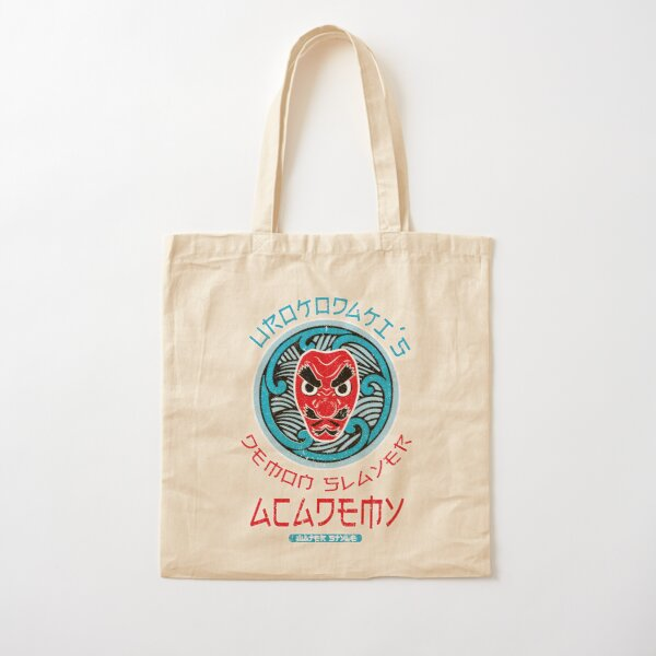 DEMON SLAYER (KIMETSU NO YAIBA): ACADÉMIE D'UROKODAKI (STYLE GRUNGE) Tote bag classique