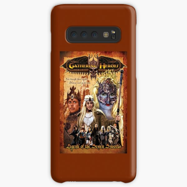 Gathering of Heroes: Legend of the Seven Swords Fantasy Poster Samsung Galaxy Snap Case