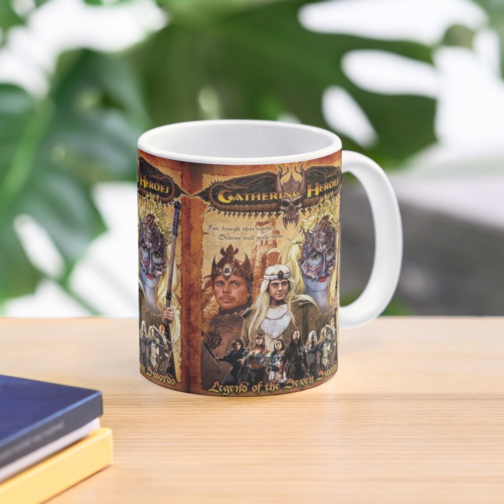 Gathering of Heroes: Legend of the Seven Swords Fantasy Poster Mug