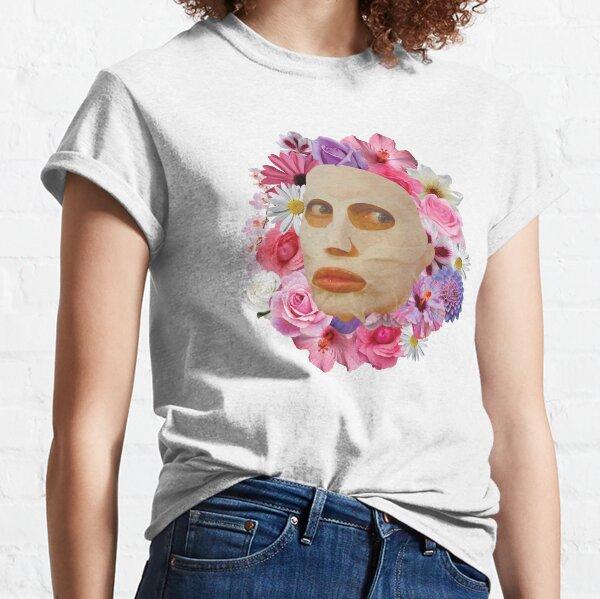 Alyssa Edwards Beauty Mask With Flowers - Rupaul's Drag Race Classic T-Shirt