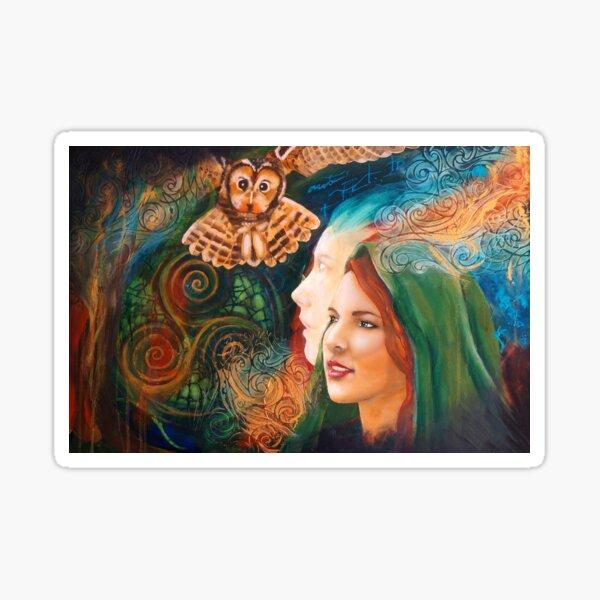 Goddess Dana/Danu Sticker