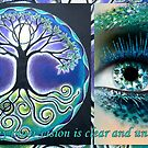 Today my inner vision is clear & unclouded  by ©The Creative  Minds