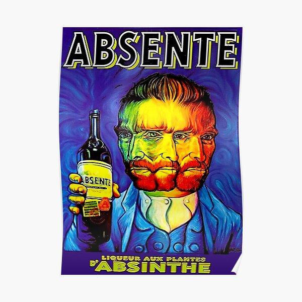 ABSINTHE; Vintage Liquor Aperitif Advertising Print     Poster