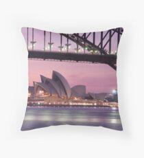 Harbour Morning Throw Pillow