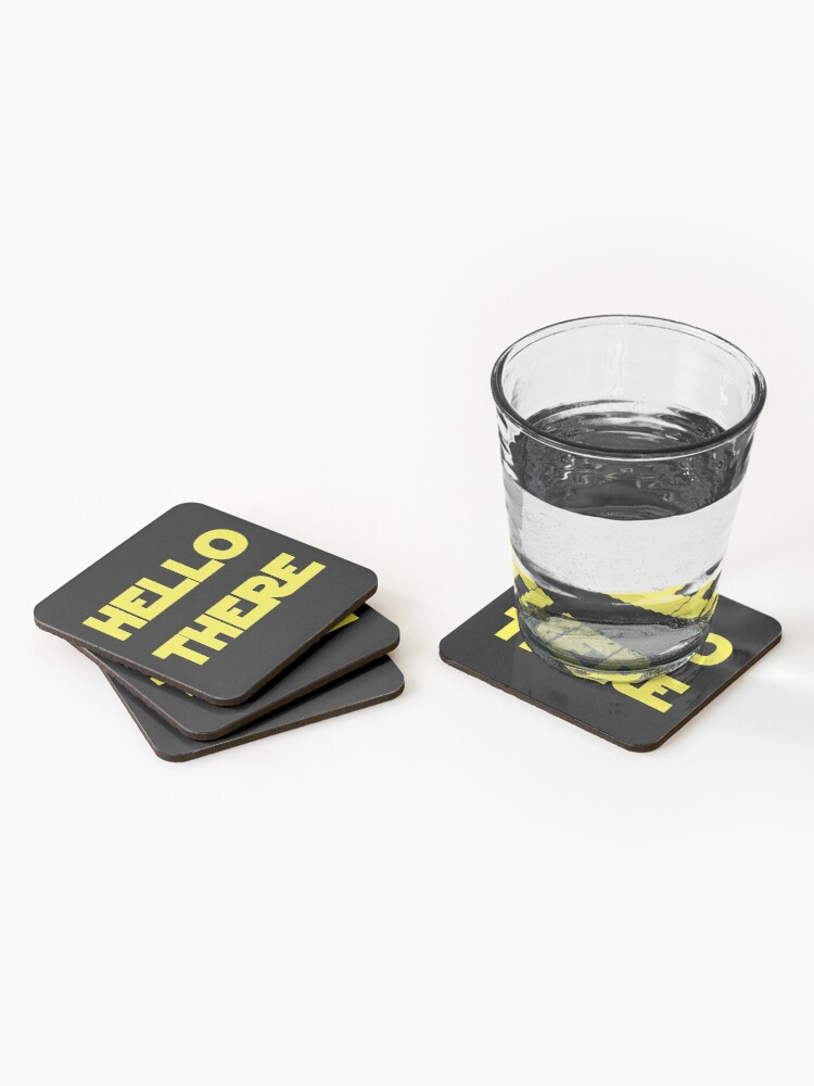 Alternate view of Hello There Coasters (Set of 4)