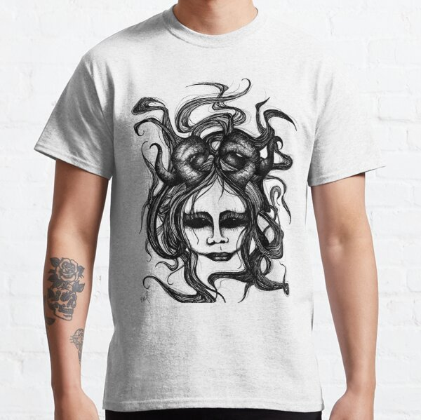 Horns Demon Princess Classic T-Shirt