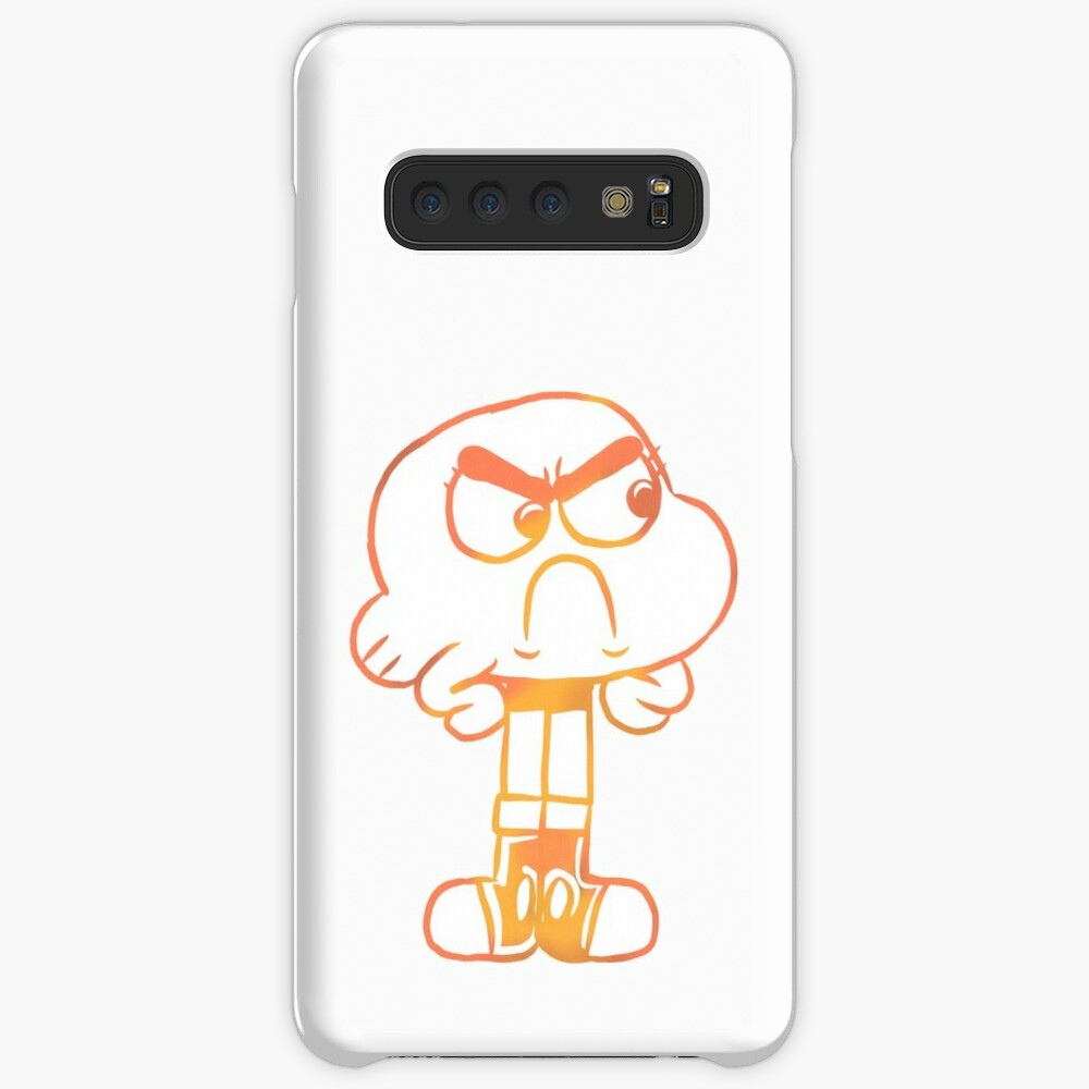 Upset Darwin Outline - The Amazing World of Gumball Case & Skin for Samsung Galaxy