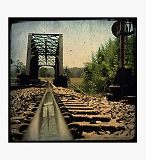 Walk The Line Photographic Print