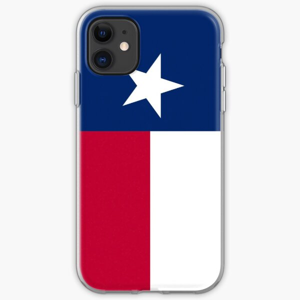 Texas Flag Phone Case I iPhone Soft Case