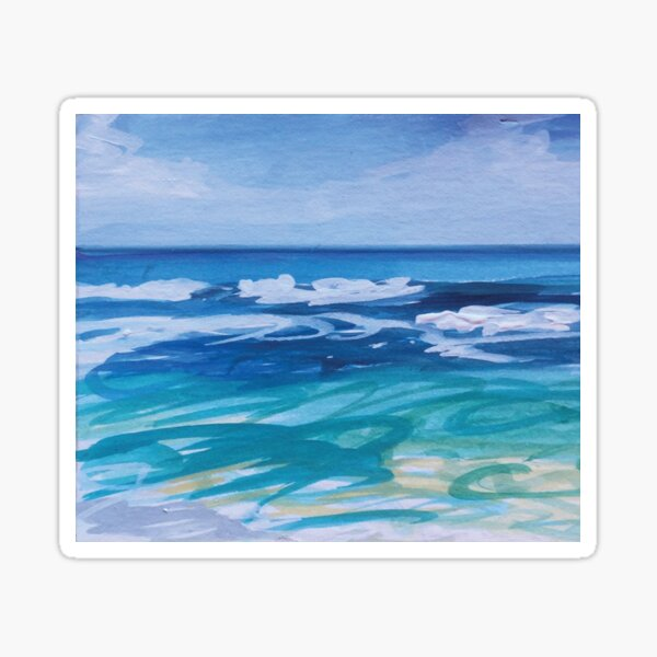 Dream Beach Lembongan Jo Reitze Sticker