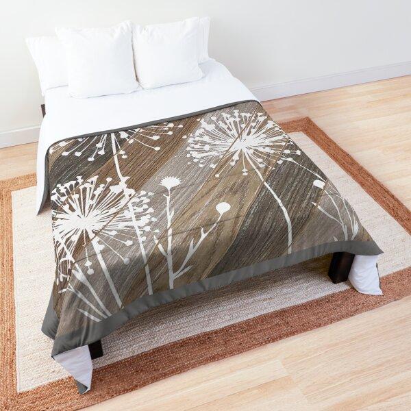 Dandelions Ready for Wishing  Comforter