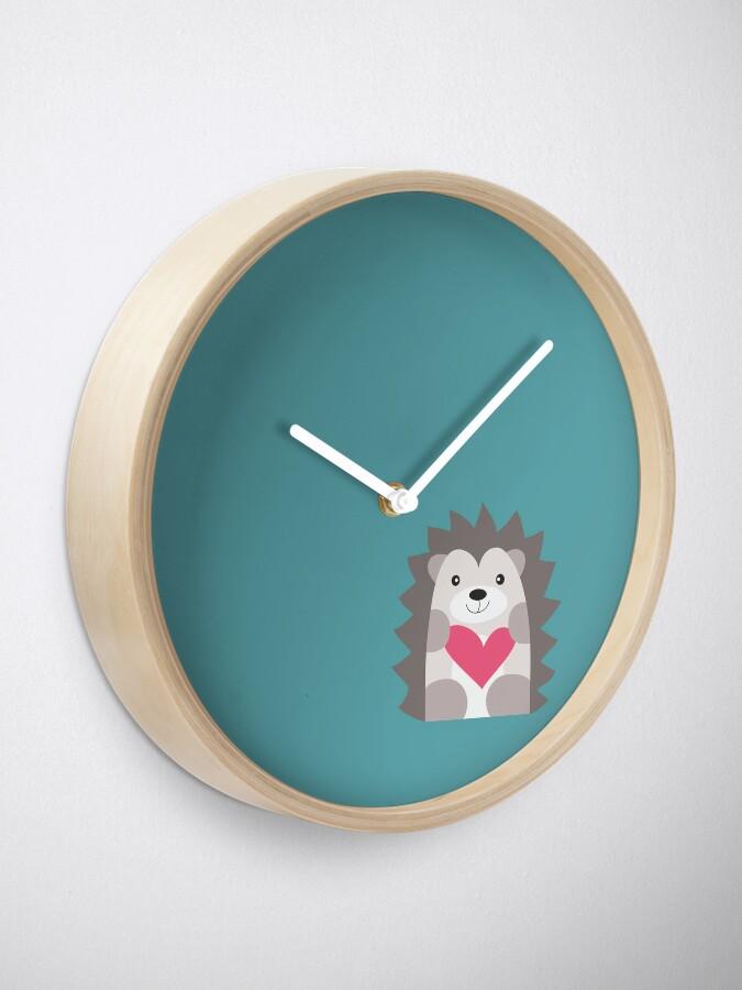 Alternate view of Hedgehog Clock