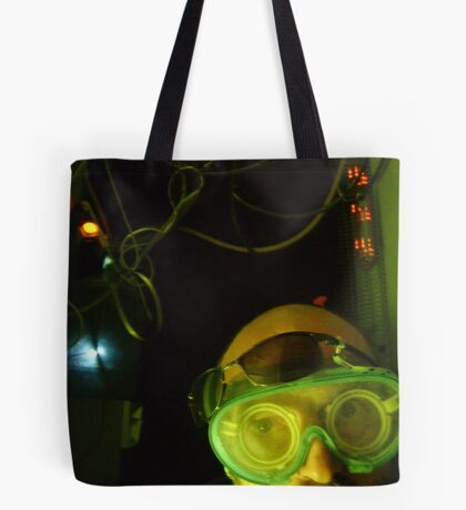 Midnight in the laboratory Tote Bag