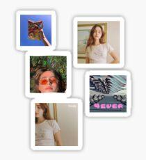 Clairo Album Cover Set Sticker